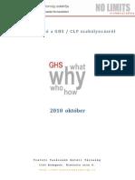 Összefoglaló a GHS_CLP szabályozásról