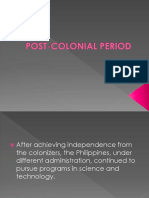 POST-COLONIAL PERIOD.pptx