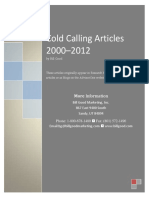 Cold Calling Articles