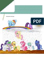 Todos Juntos Escrito Pony