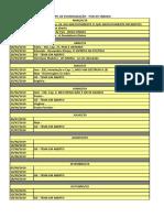 Calendário de Palestras - Pais Evangelização - Março a Dez2019