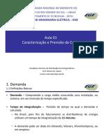 DEE - Caracterizacao Da Carga