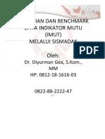 14. Benchmark Data IMUT Melalui SISMADAK.docx