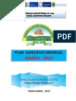 1.Plan Monitoreo Mensual Marzo 2019 Ok
