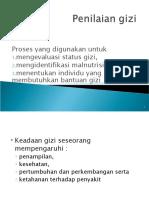 3. Penilaian Gizi