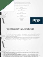 restricciones laborales.ppt