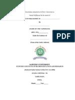 Exact Knowledge Documentation(Mphil)