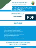 Primera Reunión Dtp 2019-i
