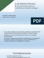Método de Dykstra-Parsons