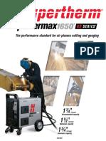 Powermax 1650 Spec Sheet.pdf