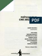 Poéticas del cine argentino - Esteban Sapir.pdf