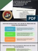 Tema 3- Enfoques de La Toma de Decisiones