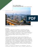 Densidade, Dispersão e Forma Urbana