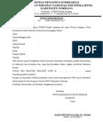 Surat Rekom Sipp Str Komsat Spj