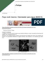 Faça Você Mesmo_ Ozonizador Para Água (MA013) _ Diário de Nilton Felipe
