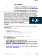 Common Navigator Framework