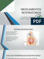 MEDICAMENTOS RESPIRATORIOS