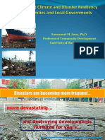 DRR and Climate Change Adaptation Nov 2018