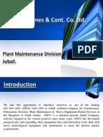 Presentation of Maintenance Division Dtd 26.12.12