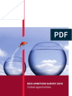BDO Ambition Survey 2010 - Global Opportunities