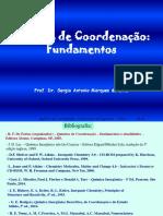 Aula 1 - Compostos de Coordenação-Introdução NC e Geometria