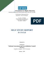 ICFAI -NAAC-SSR- II Cycle.pdf