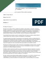 Falta de Registracion de La Relacion Laboral Desempleados Moobing Carriaga 2015
