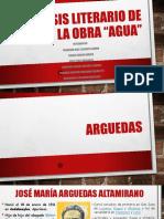 Análisis Literario de La Obra Agua