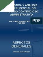 Analisis Jurisprudencial Del Contencioso Adm.