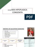ANEMIA HIPOPLASICA CONGENITA