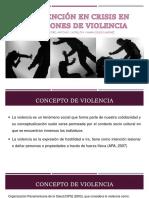 Intervención en Crisis Por Violencia Intrafamiliar