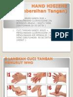 1. Cuci Tangan Dengan Air Mengalir