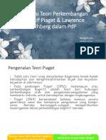 Implikasi Teori Perkembangan Kognitif Piaget & Lawrence Kolhberg.pptx
