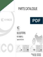 AGILITY RS 2-T KE10BB FL moto parts
