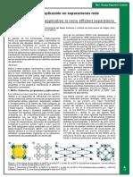 Metal Organic Frameworks (MOF's)