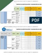 Matriz de Aspectos e Impactos Ambientales Del INVEMAR