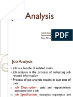 Job Analysis 2017