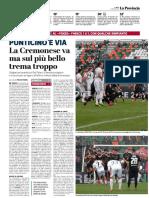 La Provincia Di Cremona 18-03-2019 - Punticino E Via