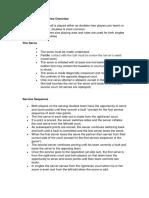 pickleball basic rules