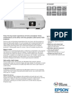 Epson Eb x05 Brochure En