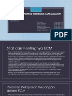 Financial Reporting in Emeging Capital Market