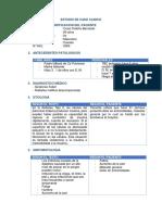 Estudio de Caso Clinico 5 PAE EN DIABETES