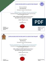 Certificate 26 September 2016