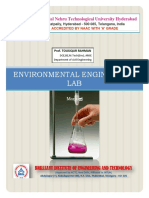 Environmental Engineering Lab