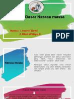 Ppt Neraca Massa Ppk