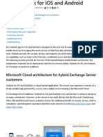 Using hybrid Modern Authentication with Outlook for iOS and Android _ Microsoft Docs