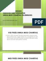 Struktur Organisasi Fikes Ukmc
