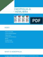 HEMOPHILIA Biologic Marketing Strategy india