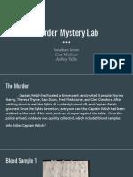 murder mystery lab