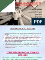 Marketing Term-1 Horlicks Final